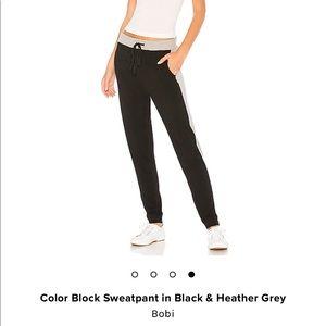 BOBI color block sweatpants